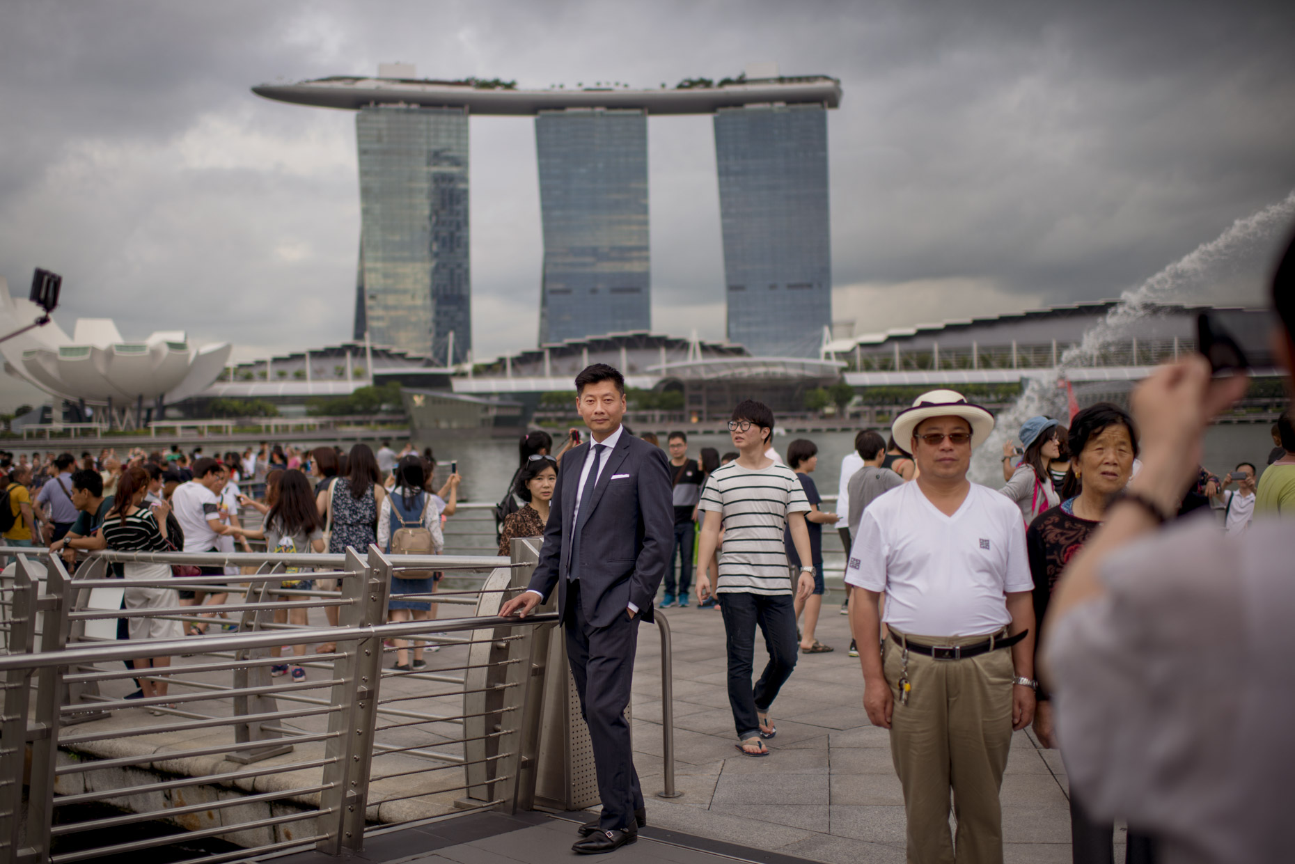 Eric Cheah of Union Investment by Photographer Stefen Chow | Portrait Photography | Singapore | Marina Bay Sands | Merlion | Asia