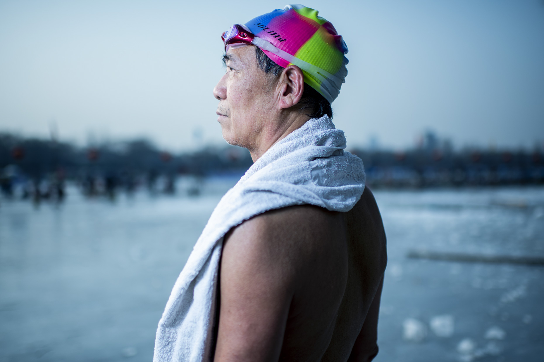 Ice Swimmers Beijing by Stefen Chow