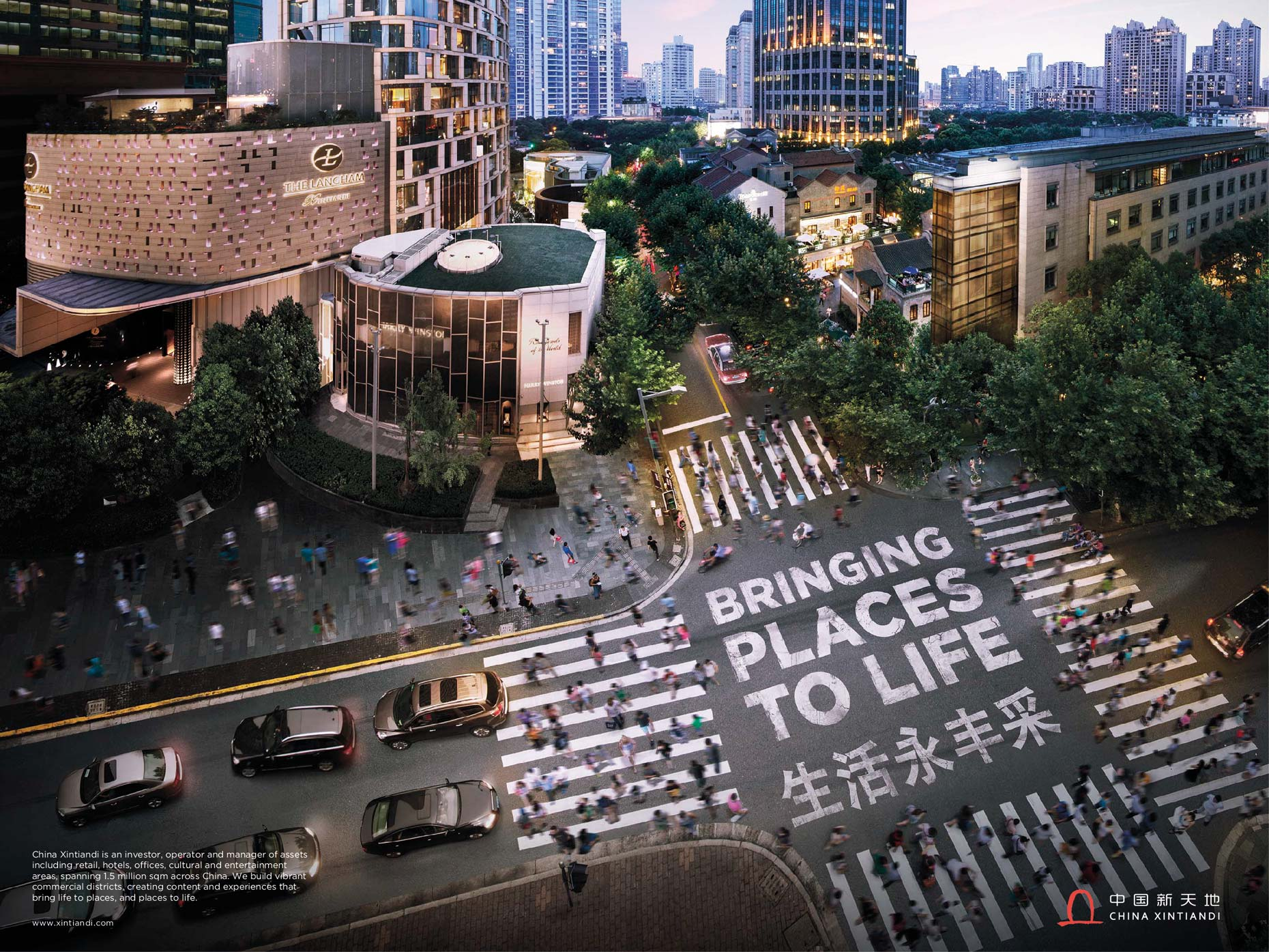 China Xintiandi Advertising Campaign by Photographer Stefen Chow | Advertising Photography | Commercial photography |  Architectural Photography | Property Developer | Shanghai | China | Asia