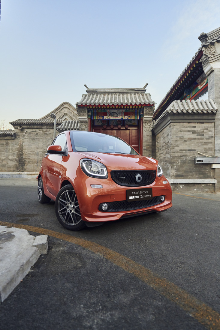 Smart Car Mercedes Advertising Lifestyle Photography Stefen Chow Beijing China