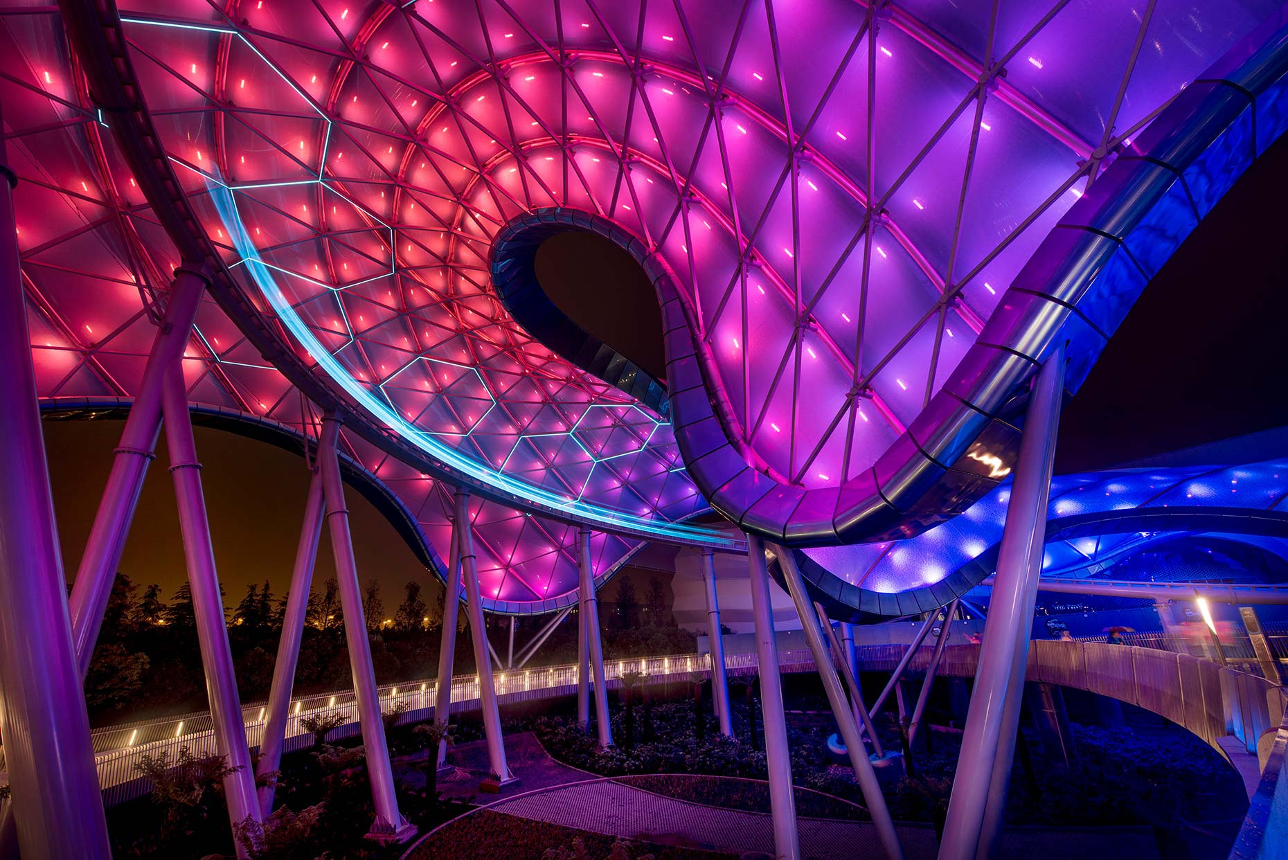 Disney Shanghai Tomorrowland | Grimshaw Architects | Architectural Photography | Beijing | China |  Stefen Chow
