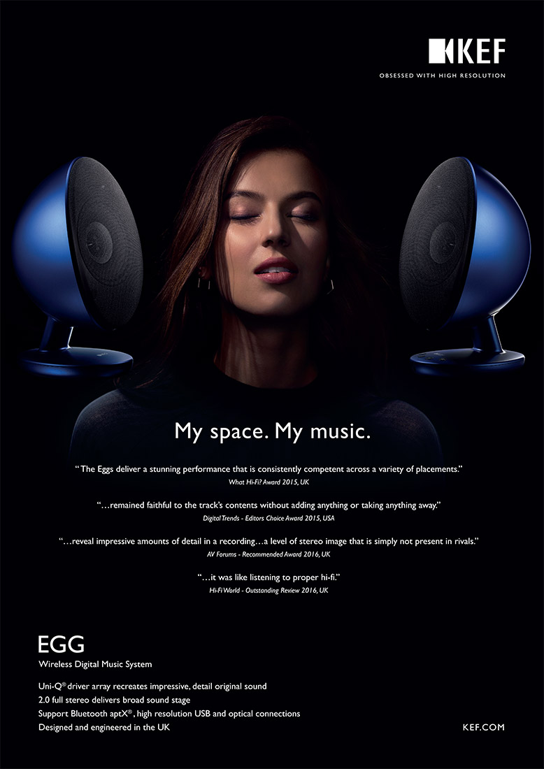 KEF Egg Western Advertisement Stefen Chow