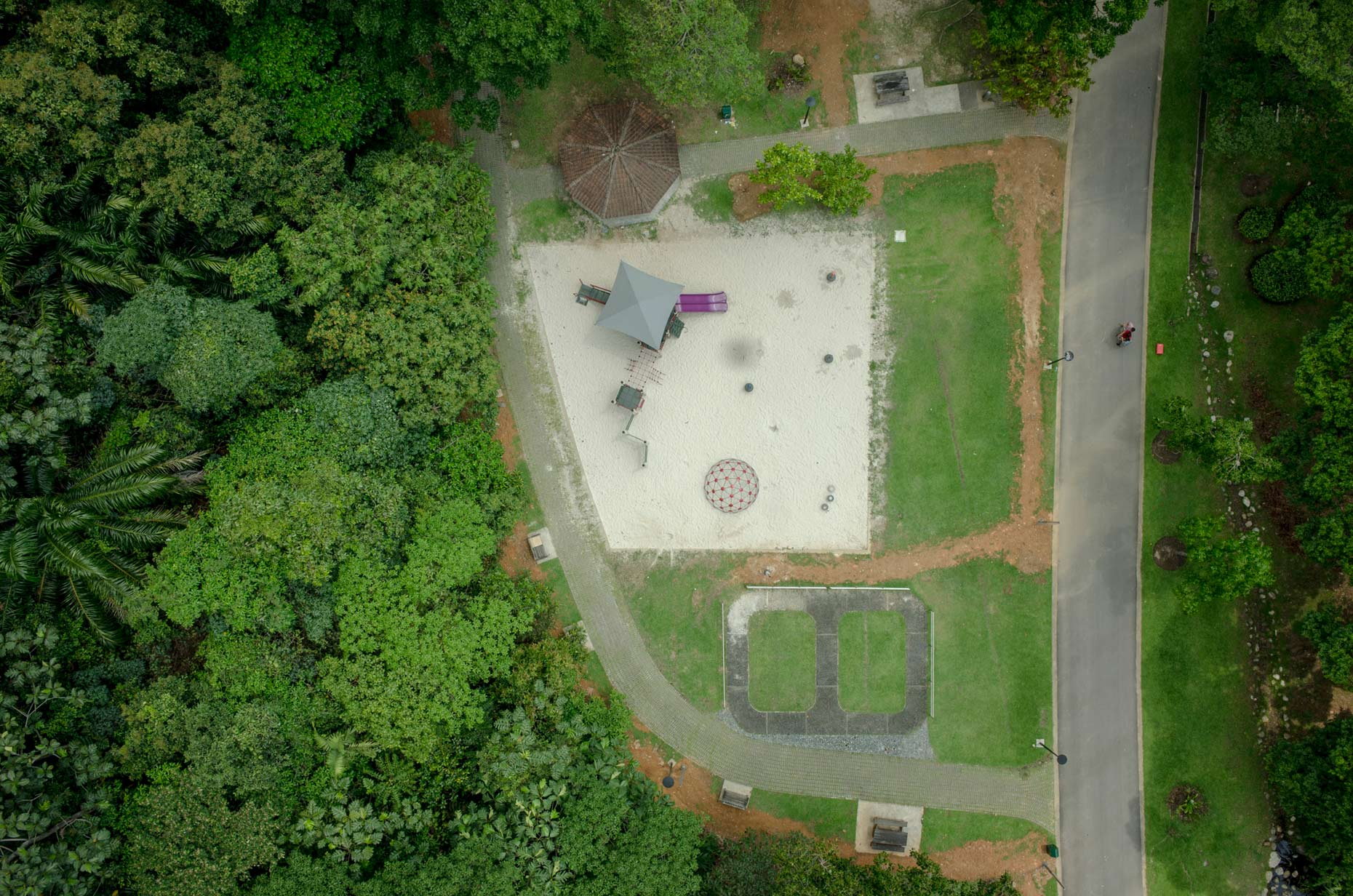 The Play Project: Aerial documentation of playgrounds in Singapore | Singapore | Stefen Chow