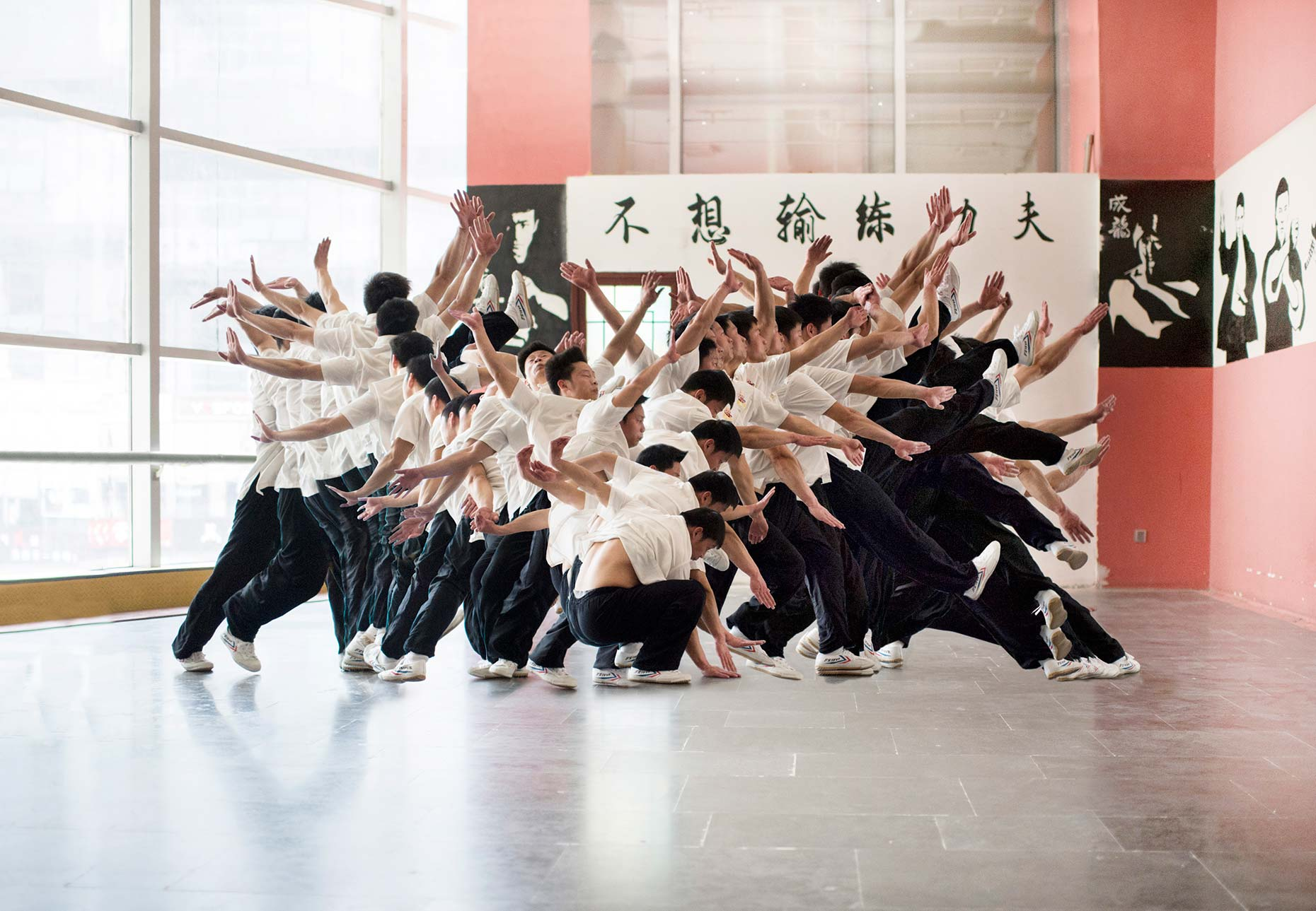 Nikon D5 Sports Campaign by Photographer Stefen Chow | Commercial Photography | Sports Photography | Multiple Exposure | art | Wushu | Martial Art | Beijing | China | Asia