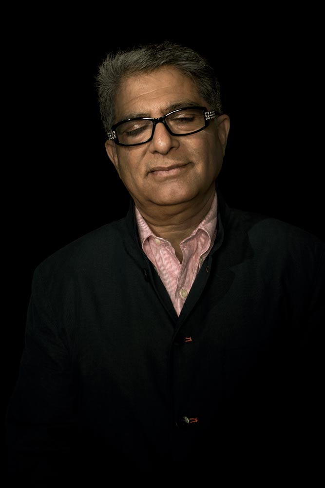 Portrait of Deepak Chopra by Photographer Stefen Chow | Portrait Photography | Studio | Corporate | Beijing | China | Asia