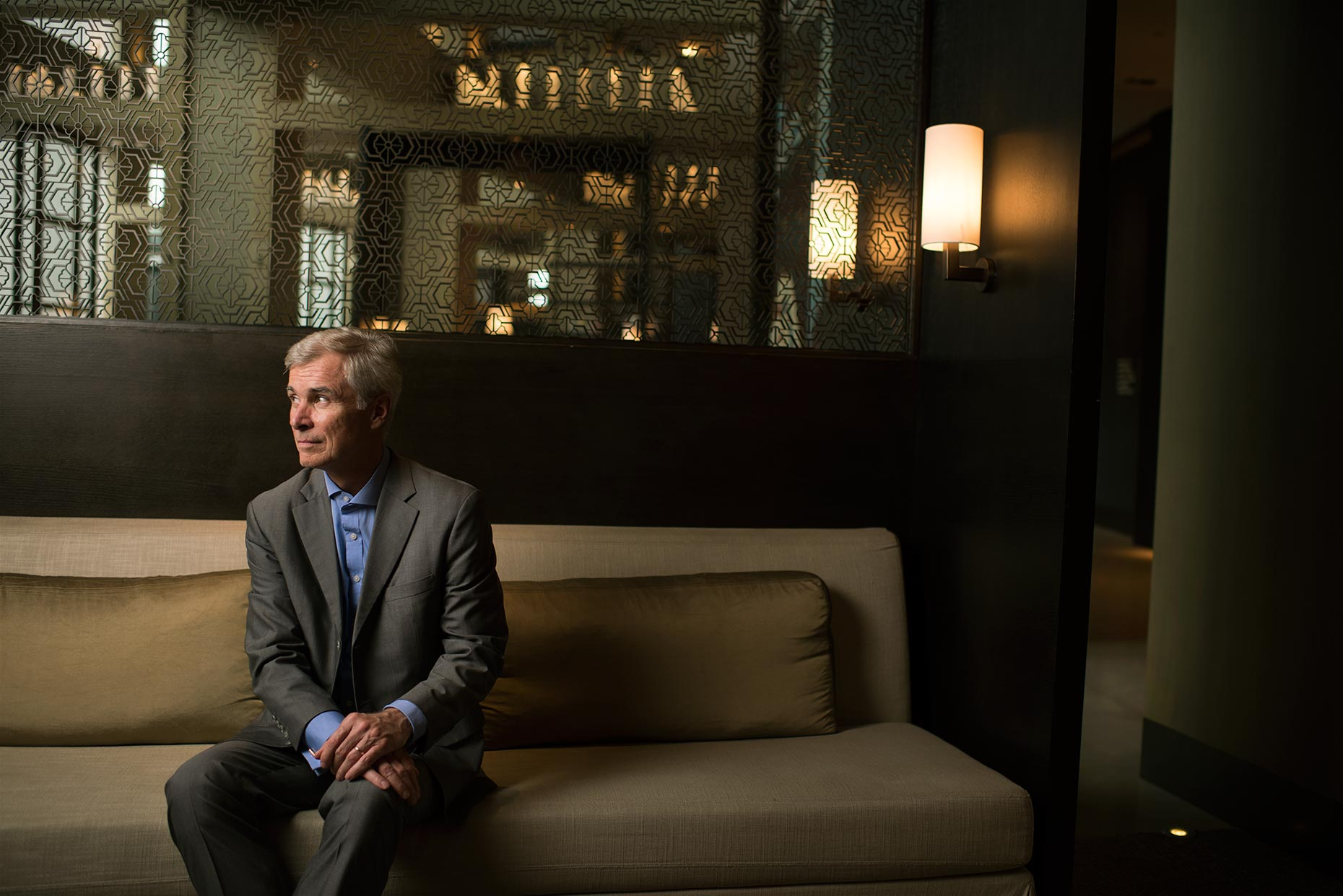 Rosewood Hotel Group CEO Simon Bridle Portrait by Photographer Stefen Chow | Rosewood Hotel | Corporate Photography | Commercial | Hotel industry | Beijing | China | Asia