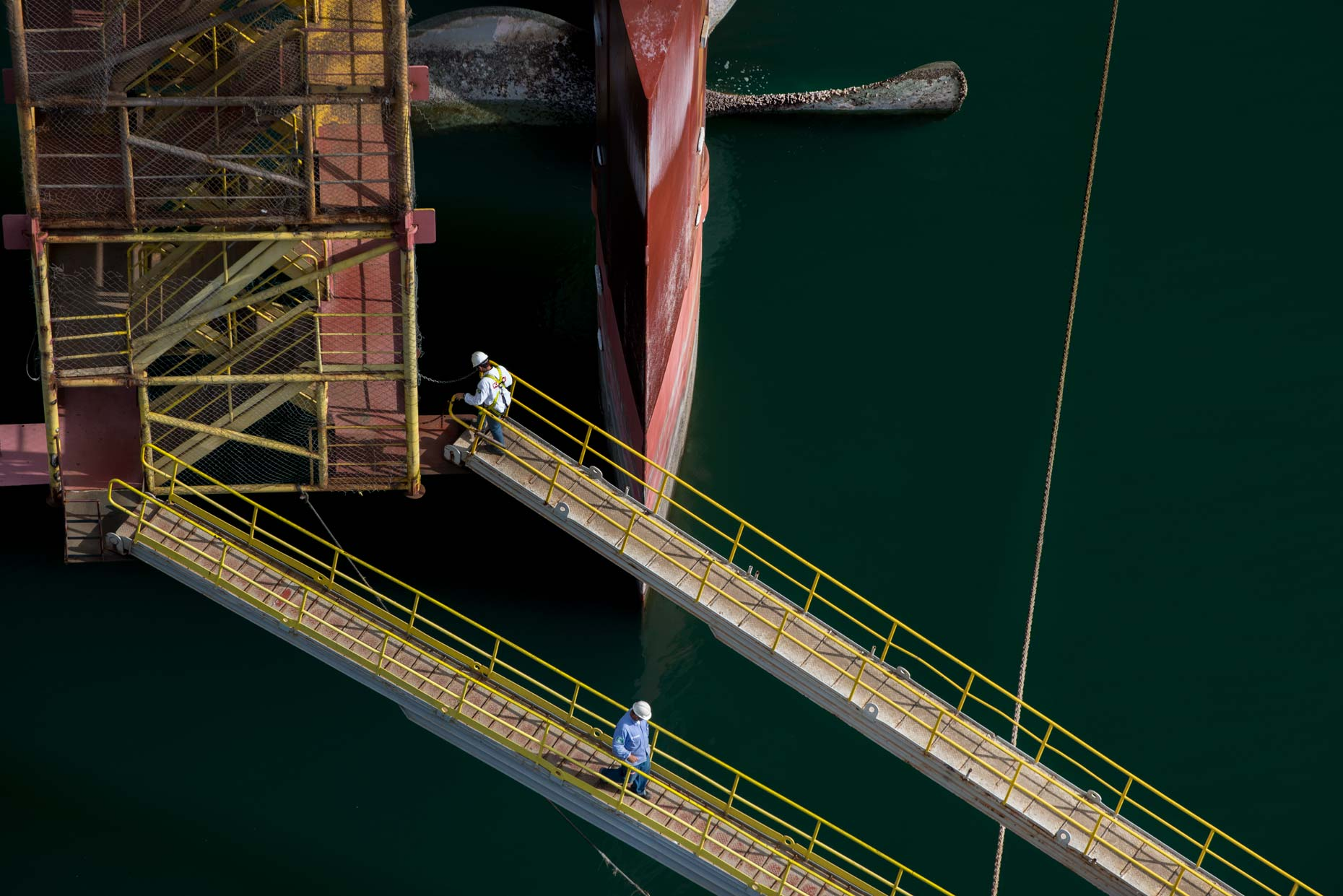 Keppel Brasfel Shipyard Campaign by Photographer Stefen Chow | Keppel Corporation Limited | Shipyard | Industrial Photography | Brazil | South America