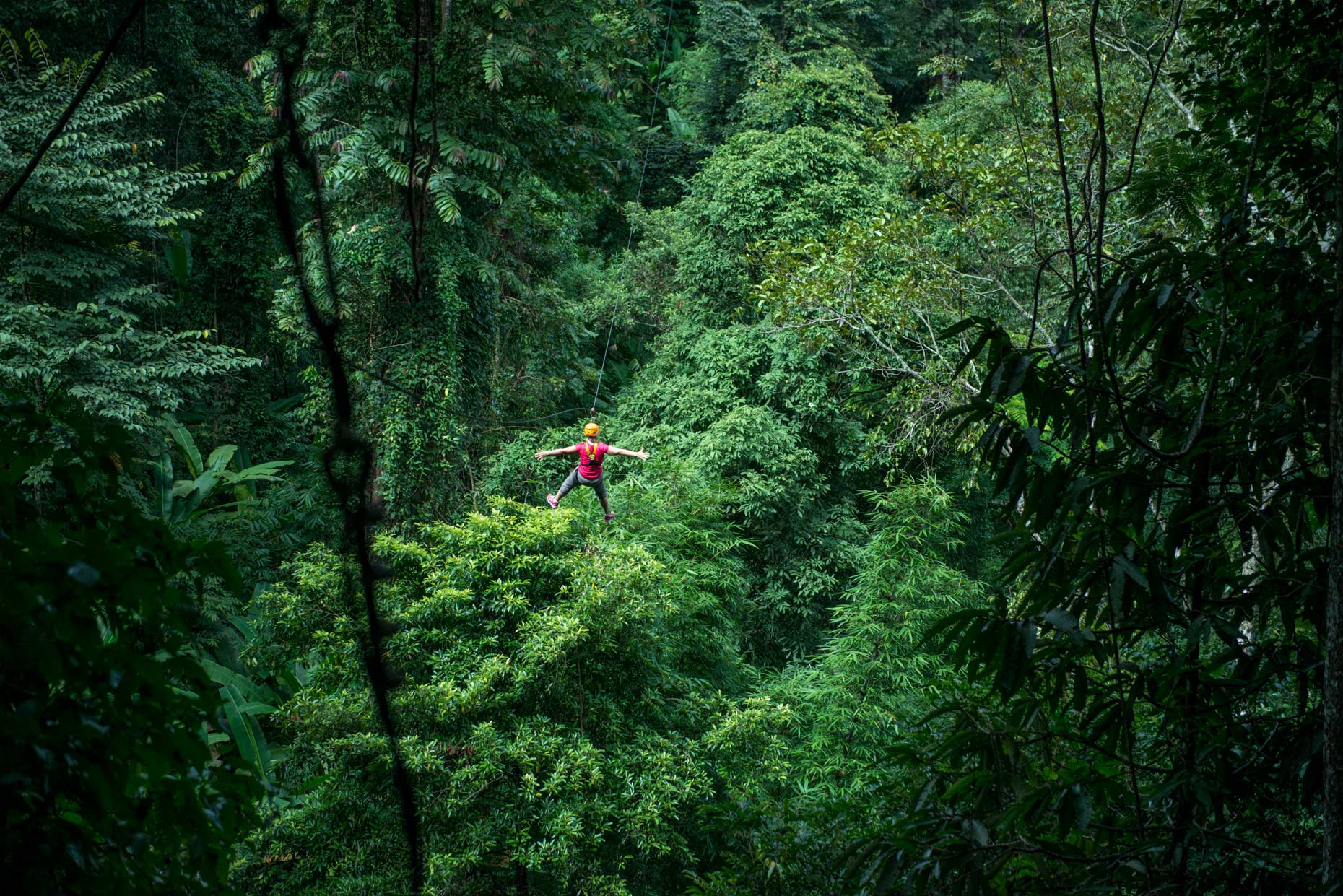 Zip Lining in the Forest with flying gibbon | Travel Assignment in Chiangmai, Thailand | Geo Germany Magazine | Stefen Chow