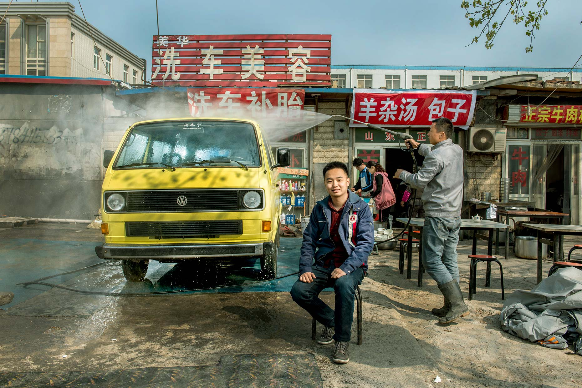 Vintage Volkswagon Collector by Stefen Chow | VW Magazine | Beijing, China | Portrait Photography | Asia