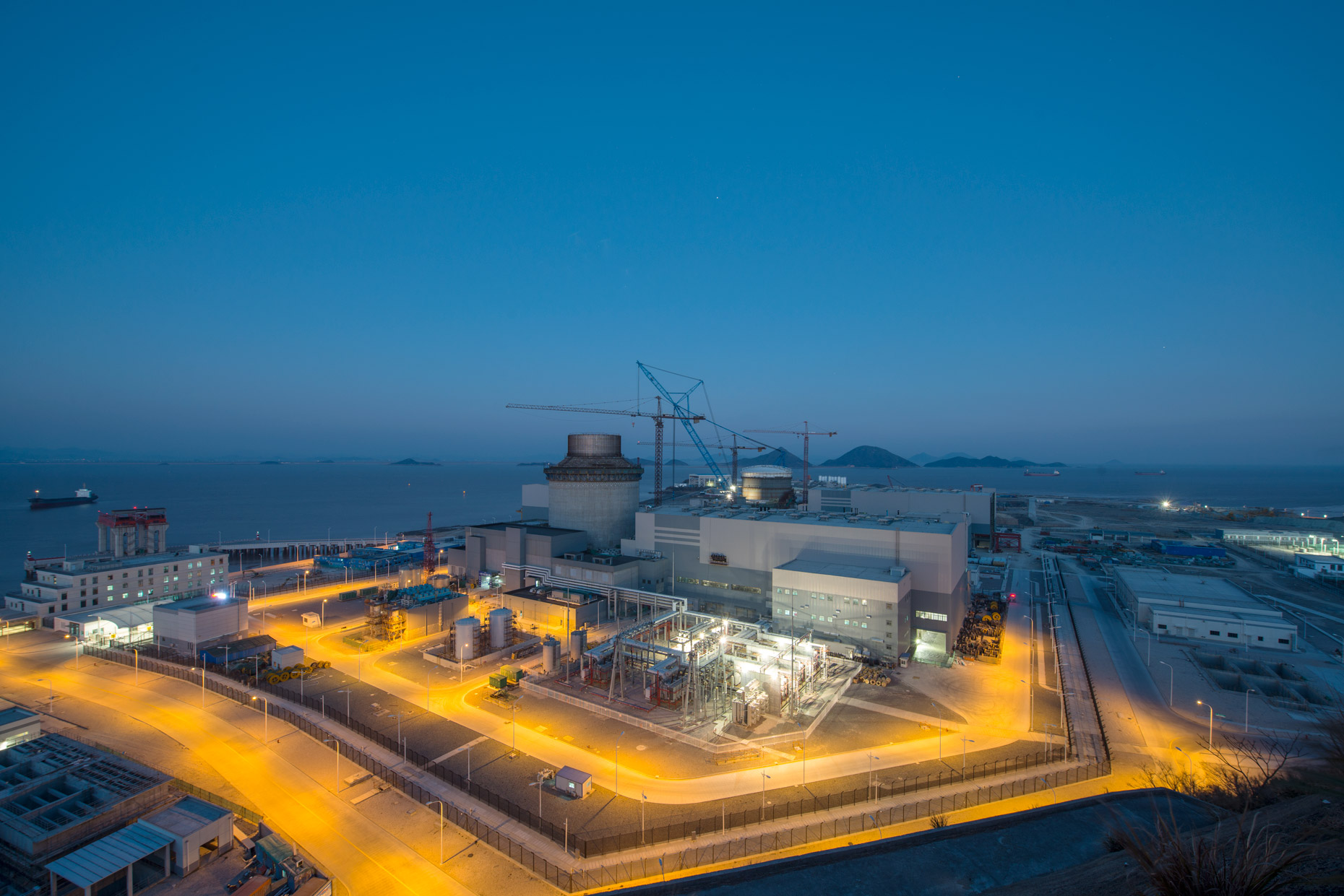 Sanmen Nuclear Facility | Westinghouse Toshiba | Industrial Photography | Stefen Chow | China