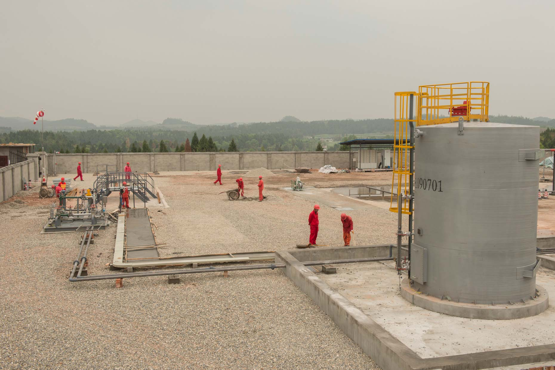 Fracking Facility | Shell Sinopec | Industrial Photography | Stefen Chow | China